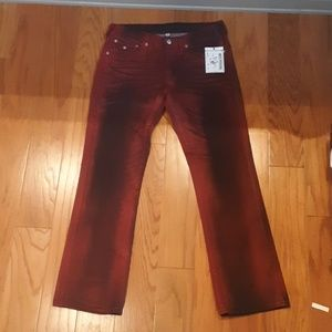 NWT True Religion World Tour Straight Jeans 34x34